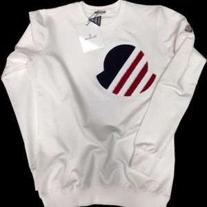 BRAND NEW MONCLER SWEATER COLOR WHITE